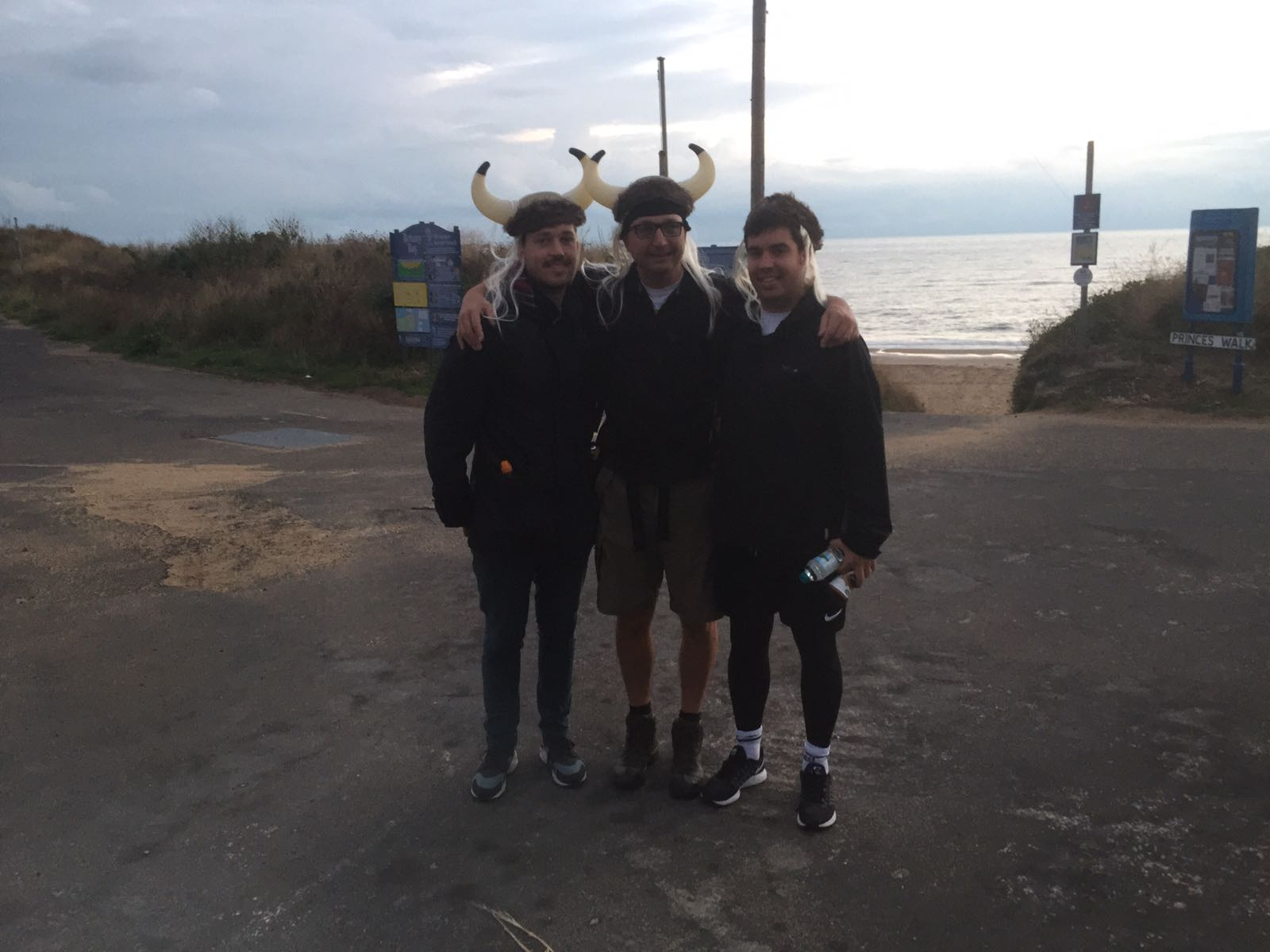 Setting off from Botany Bay at 06:30
