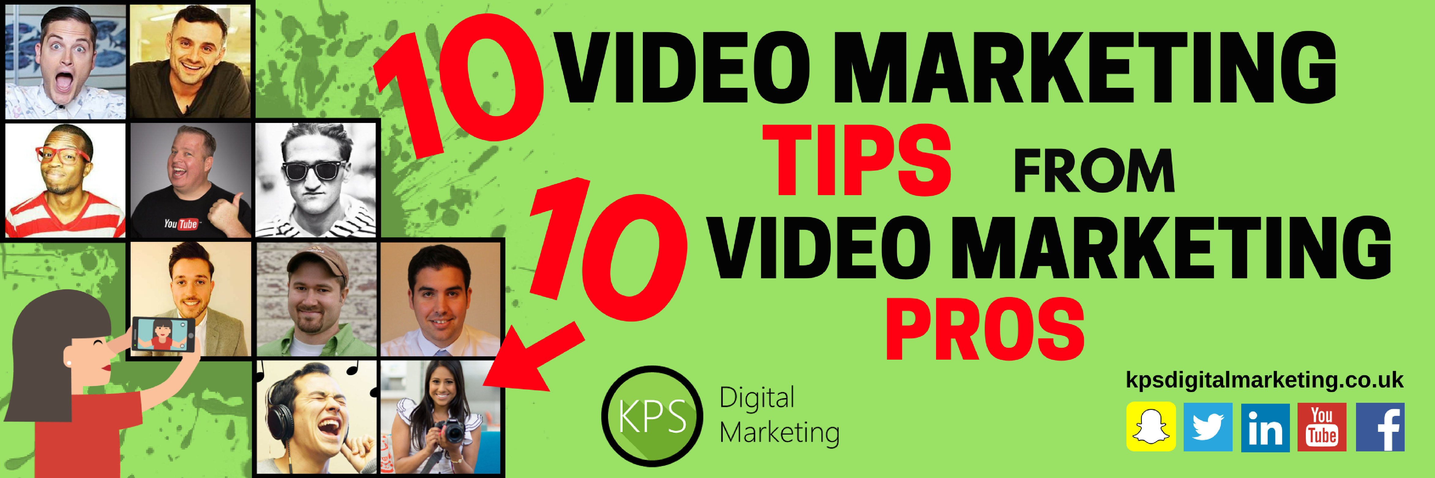 10 video marketing tips from 10 video marketing pros